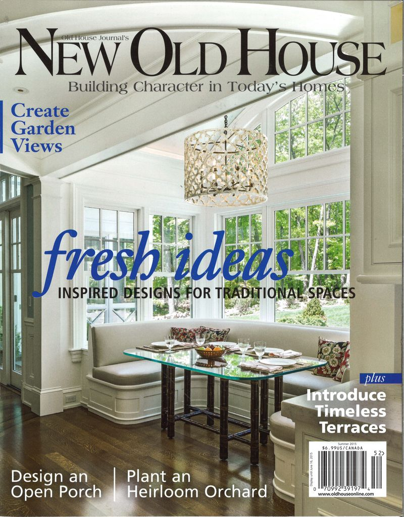 New Old House - Summer 2015 Cover
